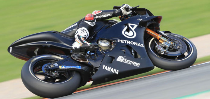 MotoGP test Valensija