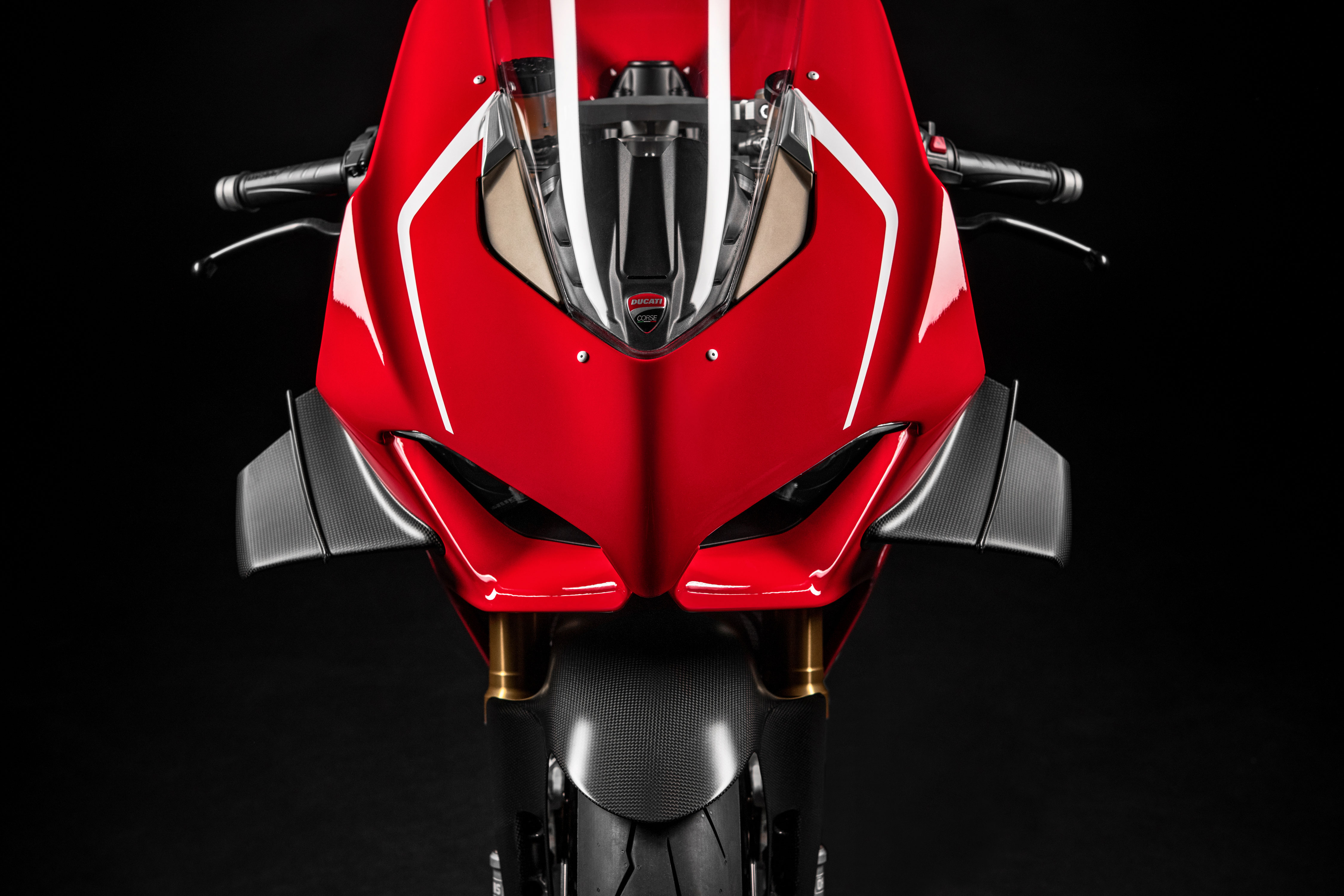 Aerodinamična krilca V4R Ducati
