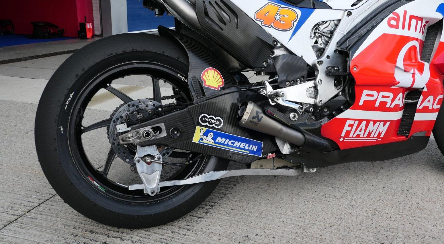 Ducatijeva paralelogram zadnja viljuška