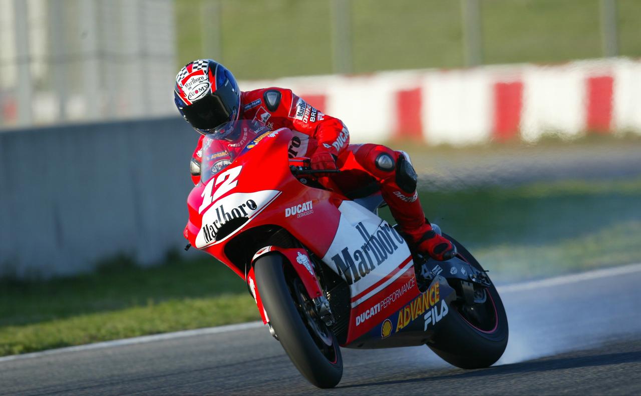 Troj Bejlis na Ducati GP3 motociklu