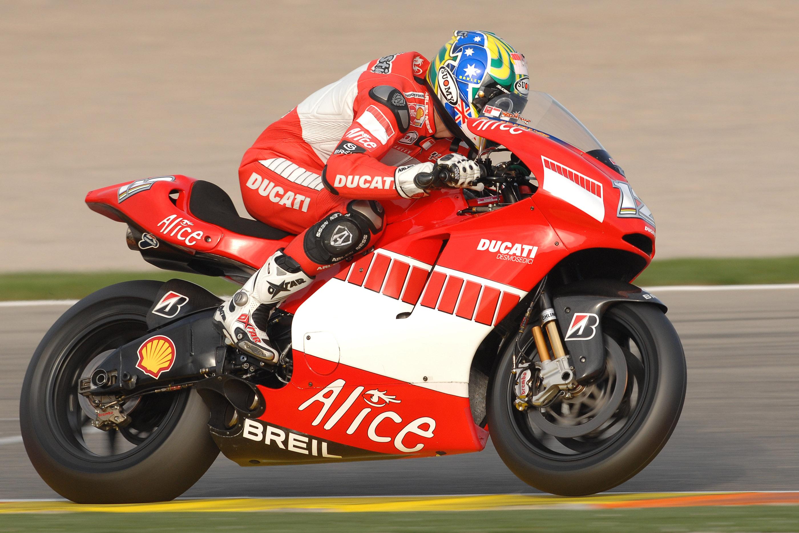 Ducati GP6 Bejlis Valensija