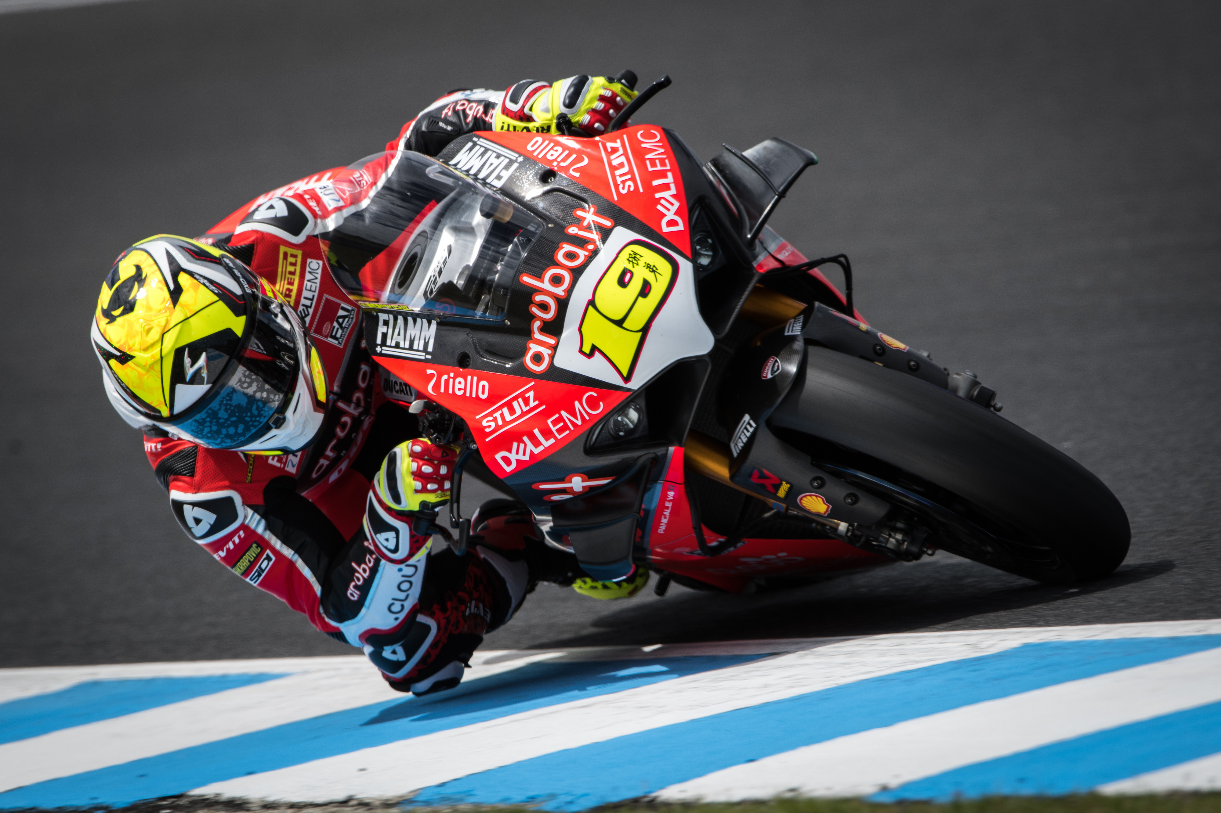 Alvaro Bautista Ducati Panigale V4R