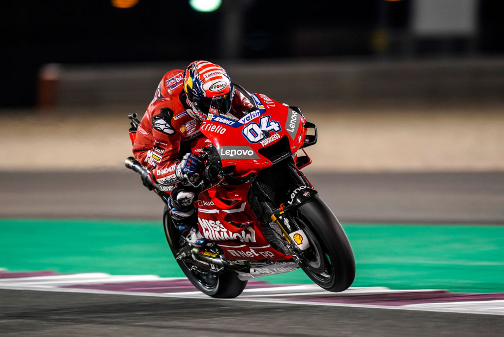 Doviciozo MotoGP test Katar
