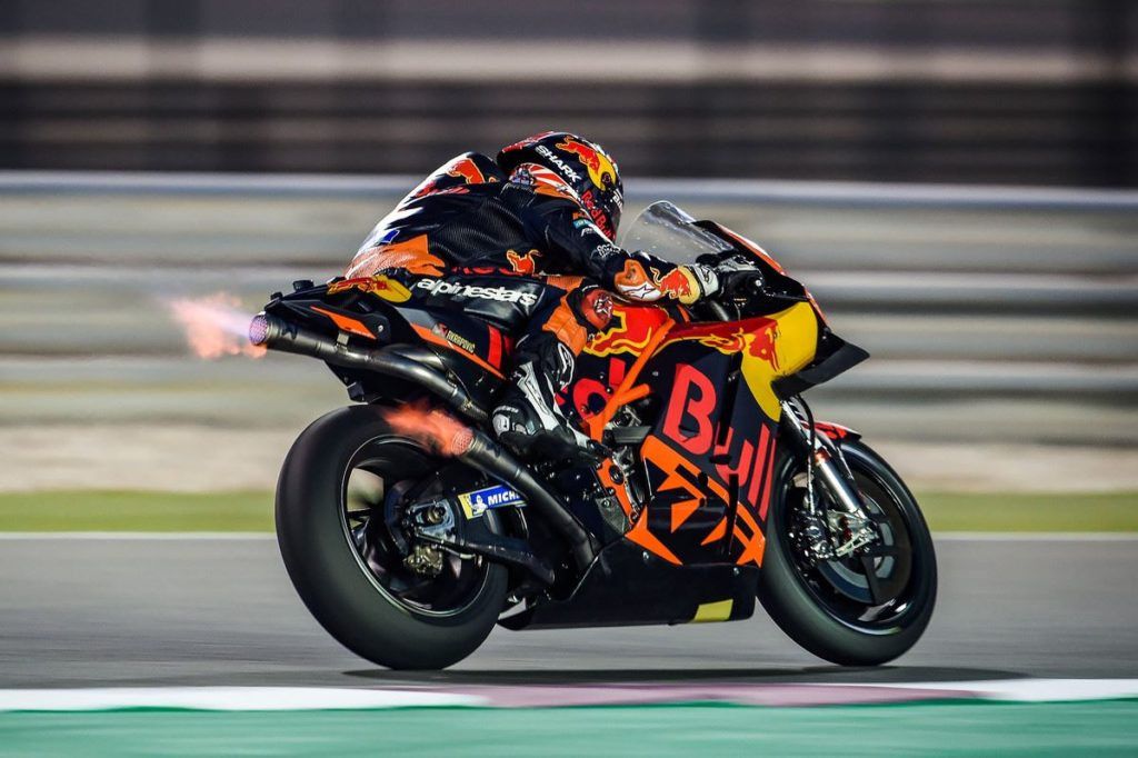 Johann Zarco KTM RC16 MotoGP Qatar test 2019 Day three