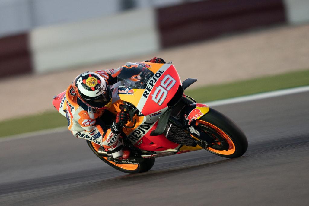 Lorenco MotoGP test Katar