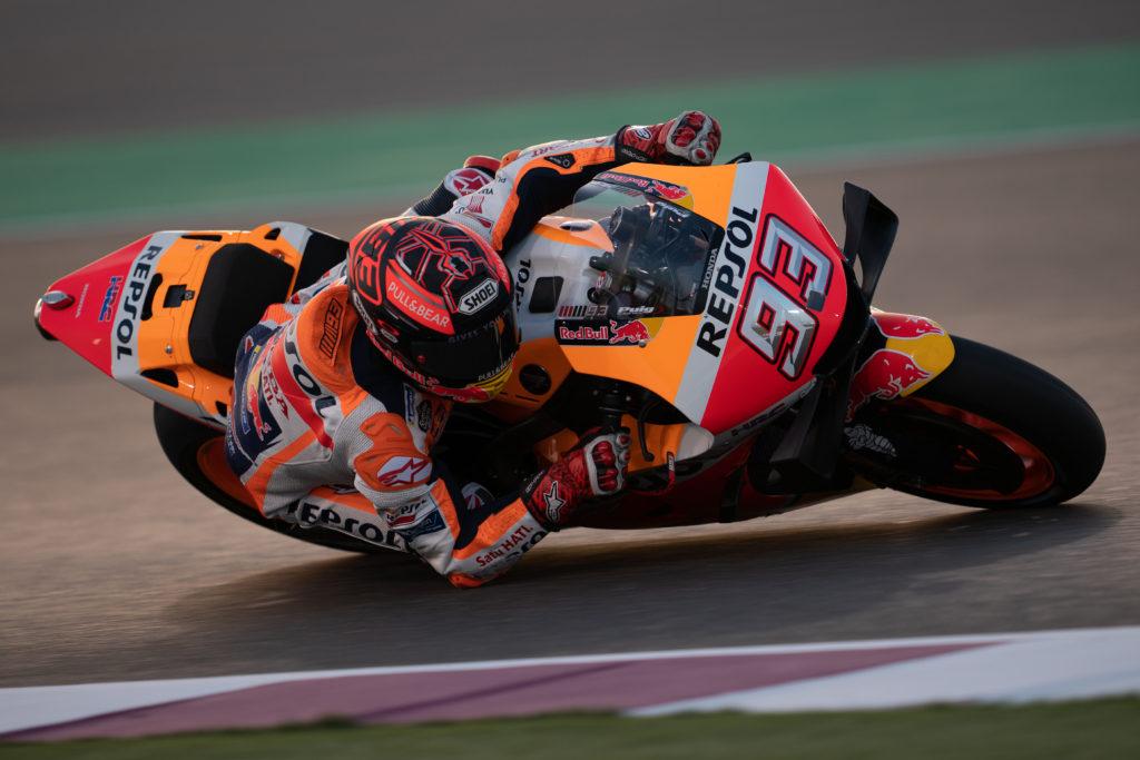 Markez MotoGP test Katar