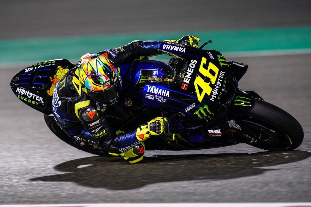 Valentino Rossi Katar test