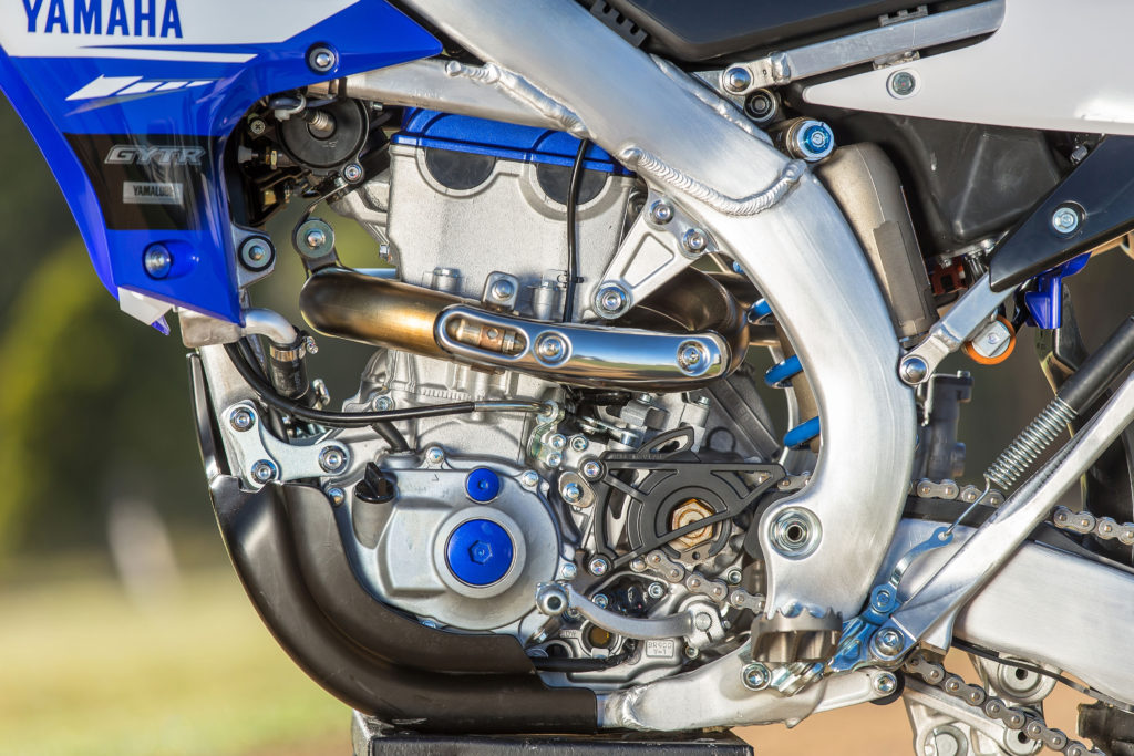 Yamaha WR450F agregat