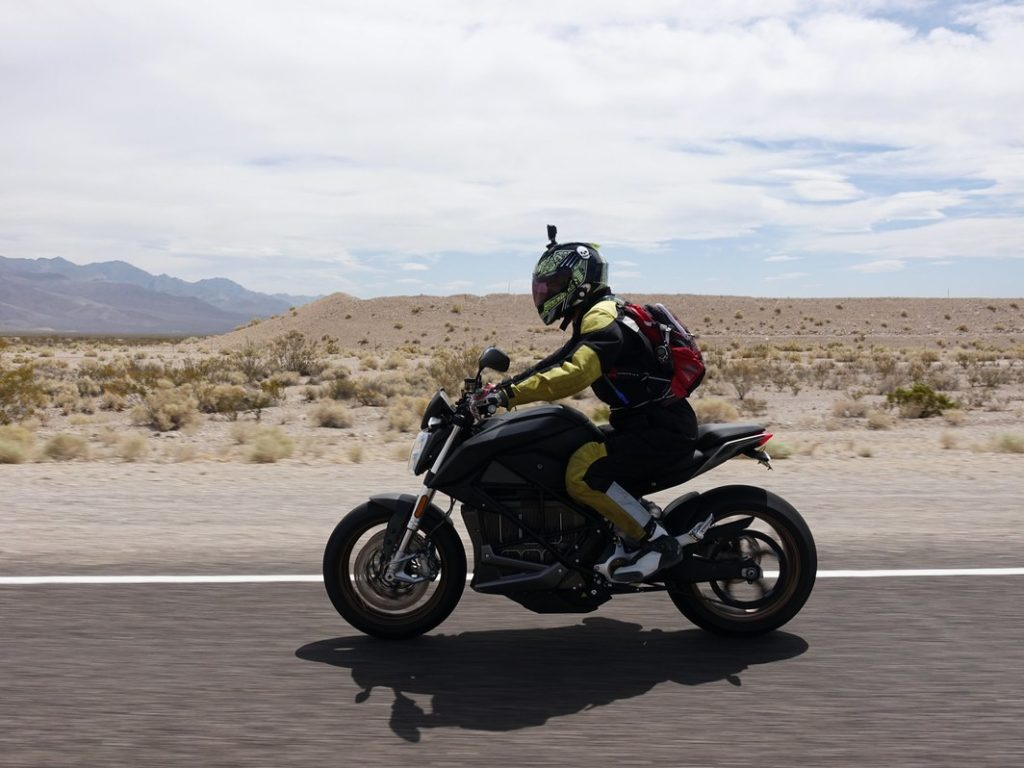 Zero Motorcycle DeathValley