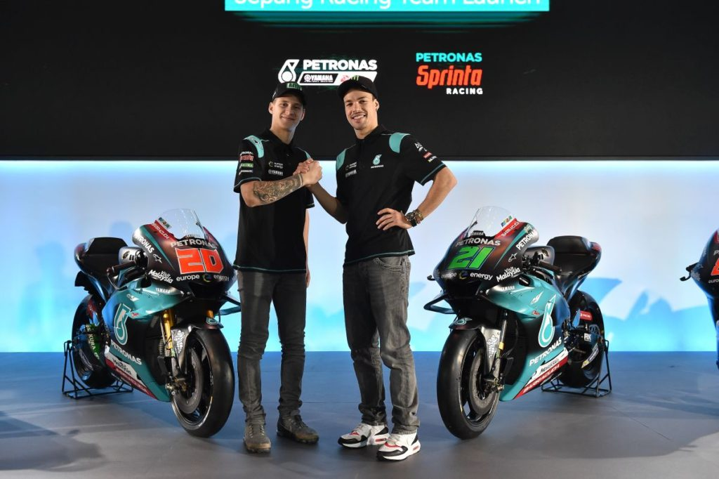 Fabio Kvartararo i Franko Morbideli, SIC Racing