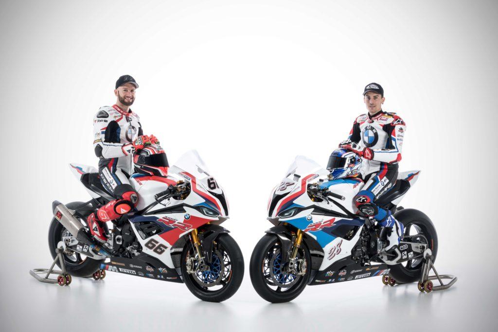 Tom Sajks i Markus Rajterberger, BMW S1000RR