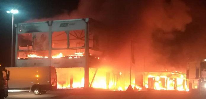 Svi MotoE motocikli izgoreli u požaru