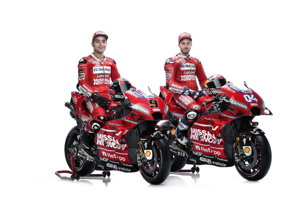 Danilo Petrući i Andrea Doviciozo, Winnow Ducati
