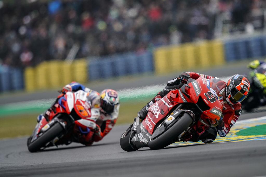 Moto vesti Ducati rešava drugog vozača