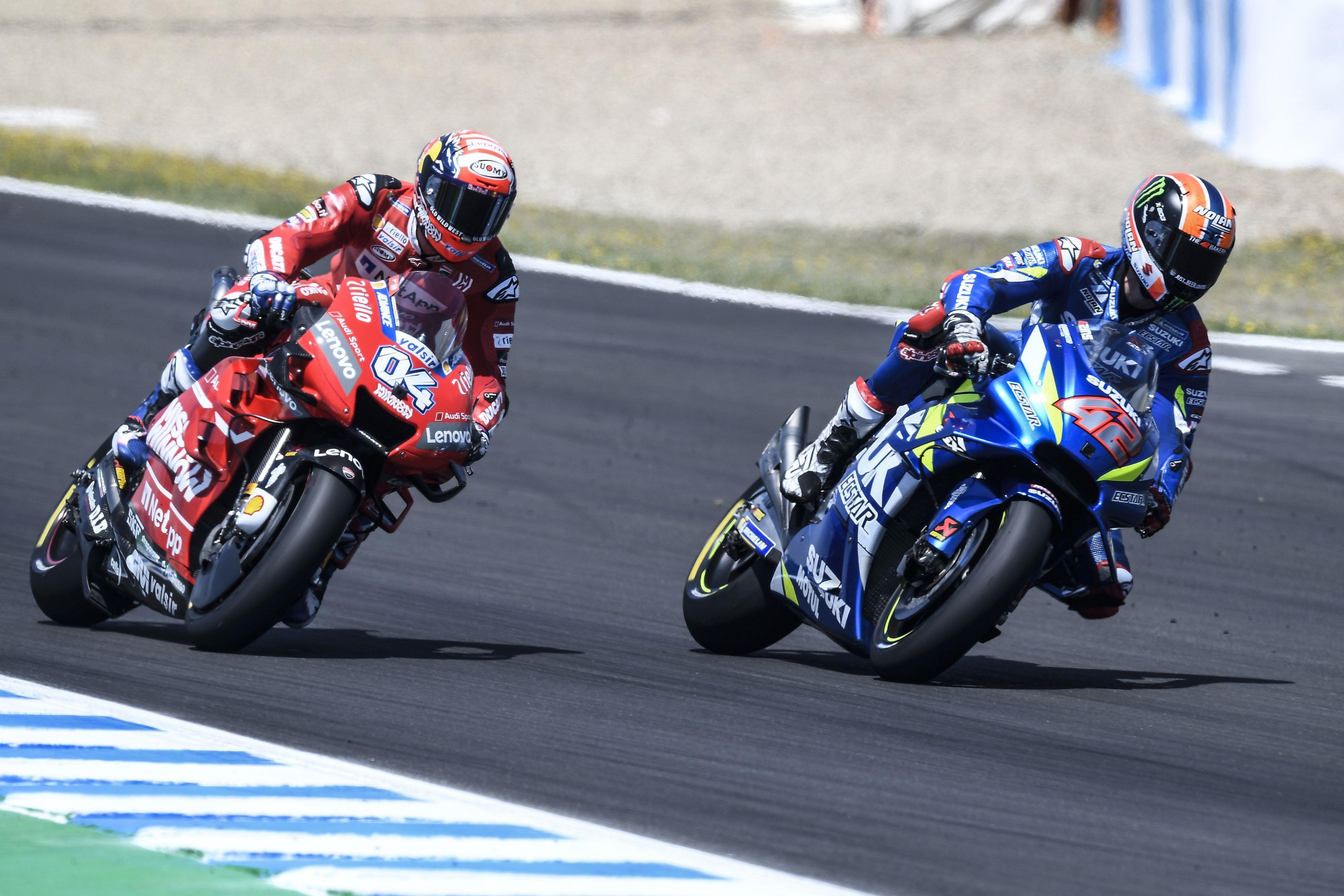 Aleks Rins motoGP Le Man