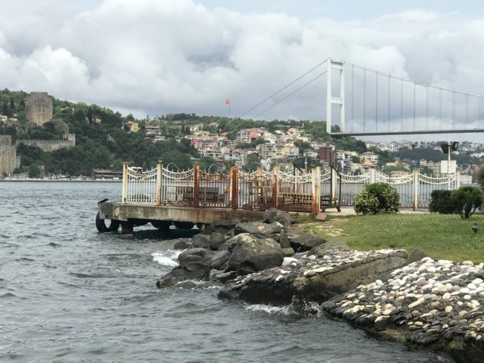 Istanbul, putovanje motorima