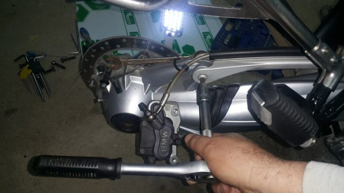 servis kardana na bmw r1200 gs adventure