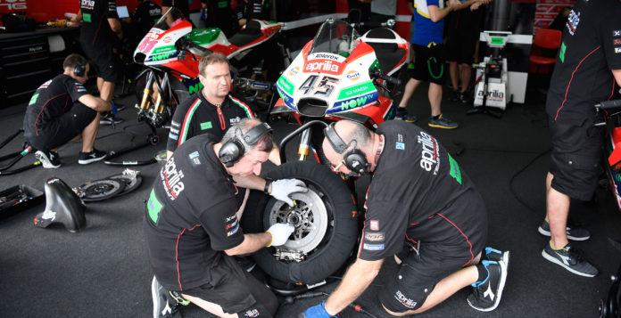 MotoGP motocikl menjanje delova