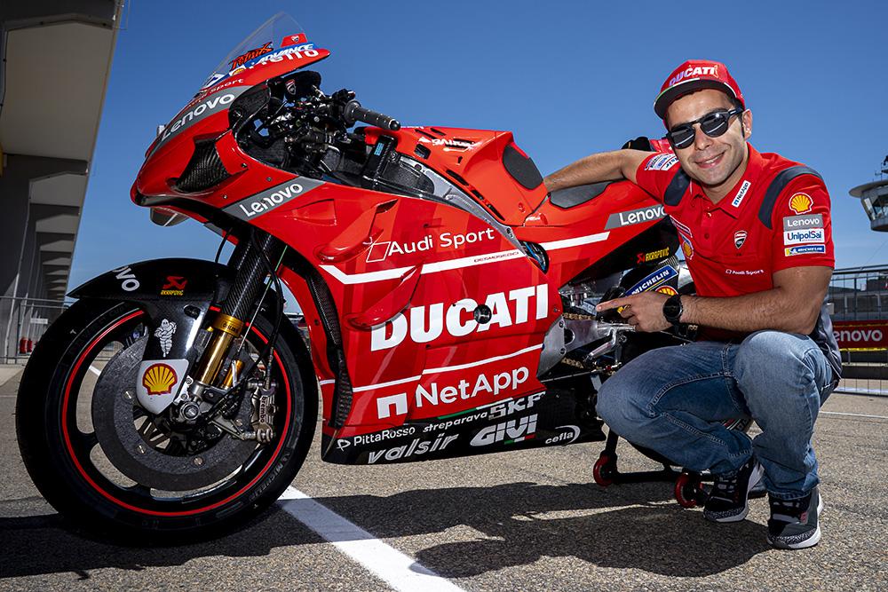Moto vesti iz protekle nedelje Danilo Petrući produžio ugovor sa Ducatijem