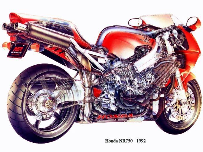 Honda NR750 motocikl ispred svog vremena