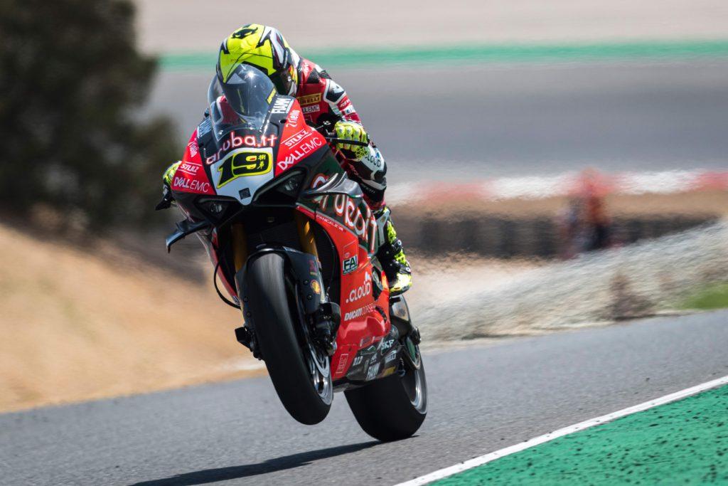 Alvaro Bautista Ducati V4R