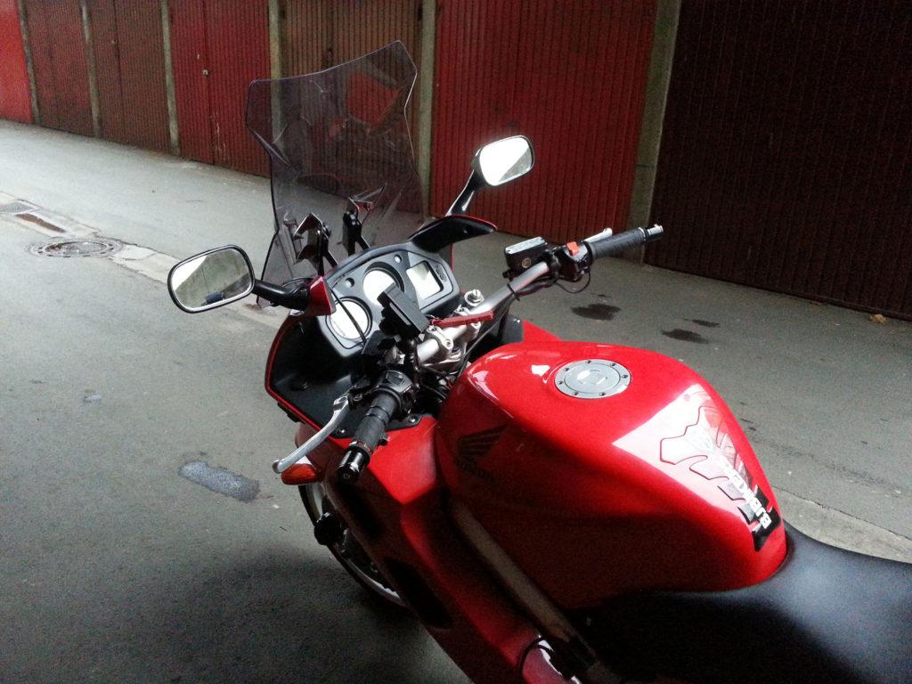 Honda VFR vizir