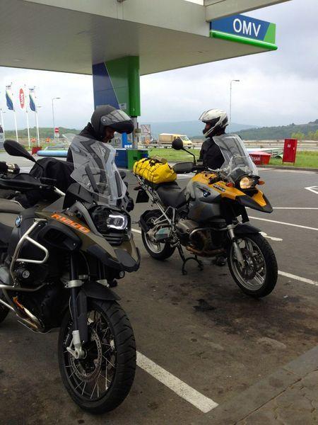 BMW R1250 GS putovanje