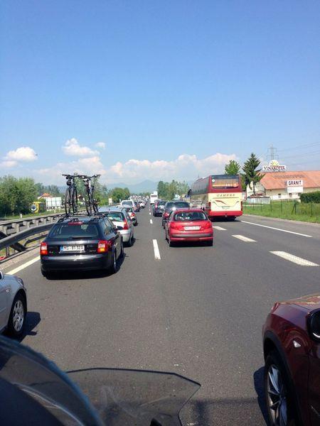 Ljubljana motorom