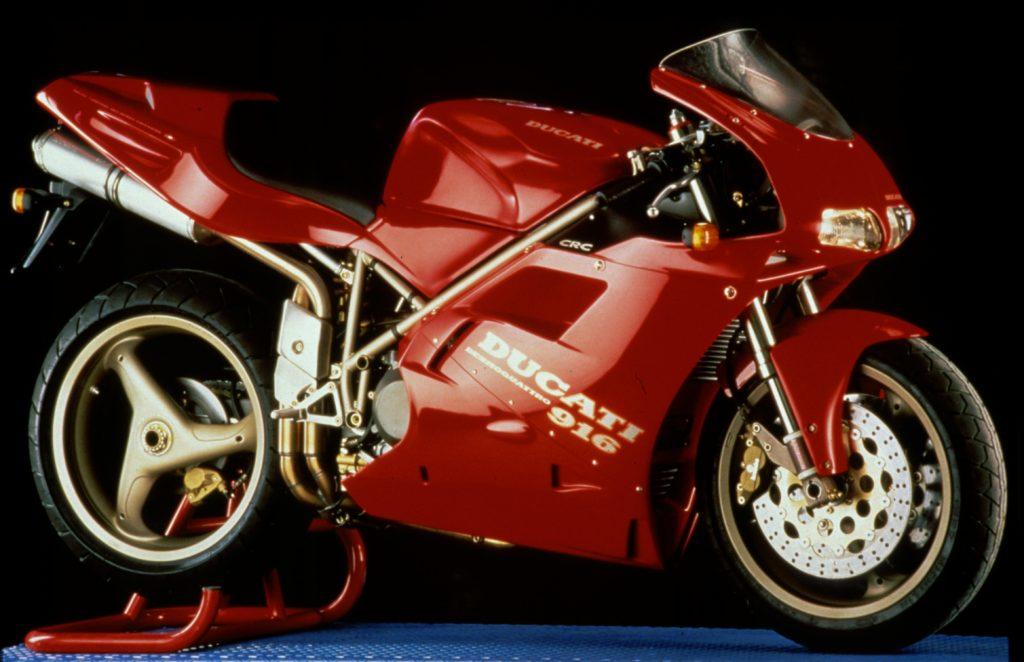 Ducati 916 Sportski motocikli koji su obeležili devedesete