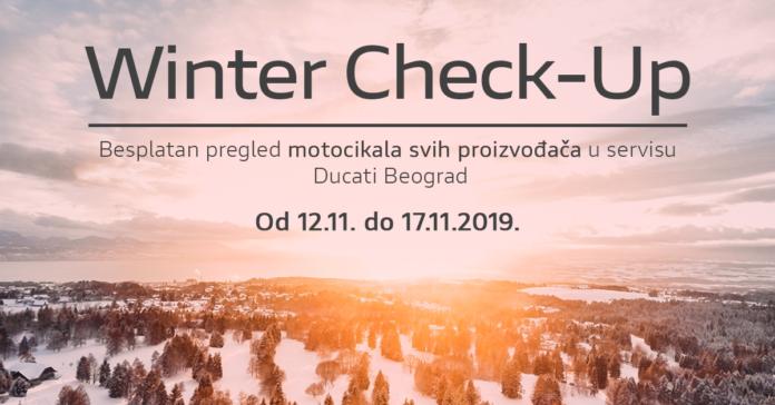 Ducati Beograd - zimska provera