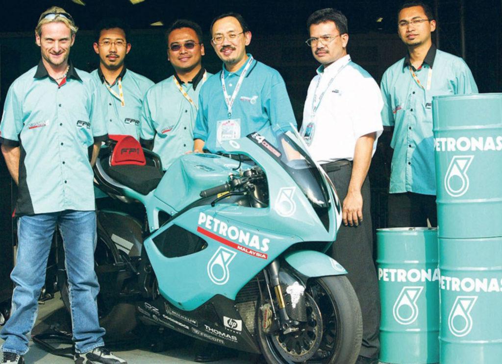 Fogarti Petronas ekipa