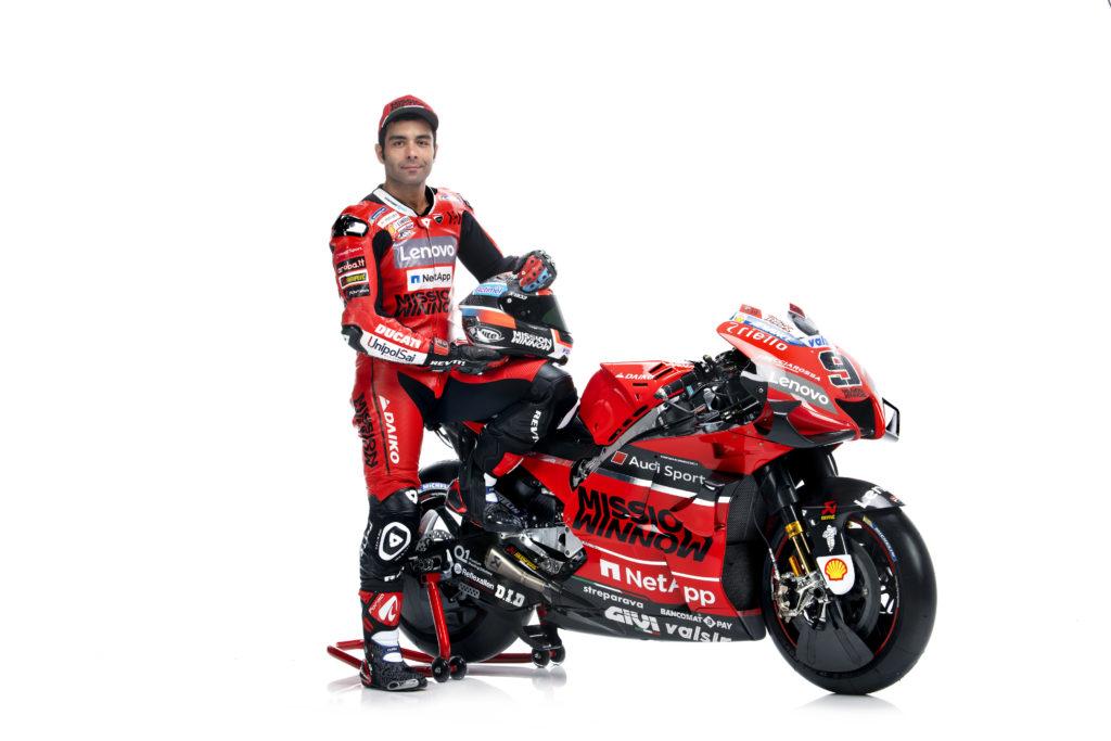 Danilo Petrući, Ducati MotoGP ekipa