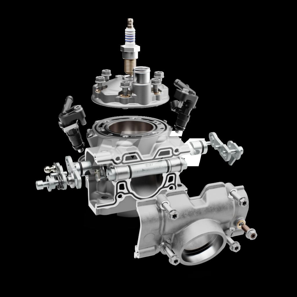 KTM TPI motor