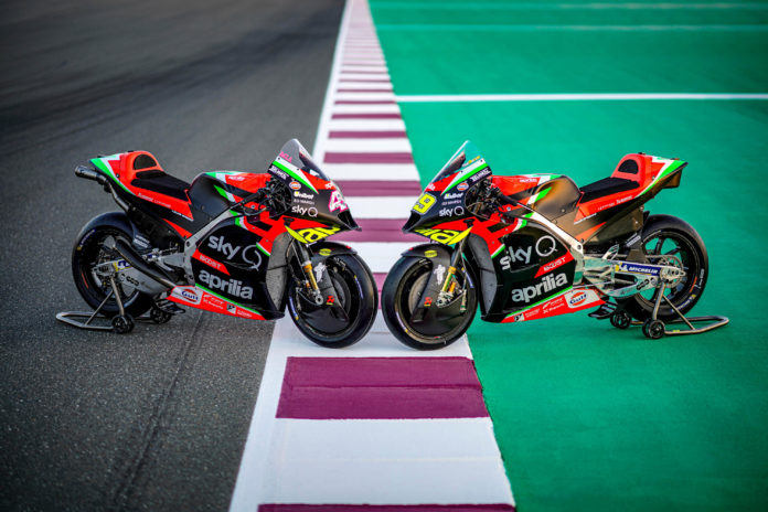Aprilia predstavila MotoGP ekipu
