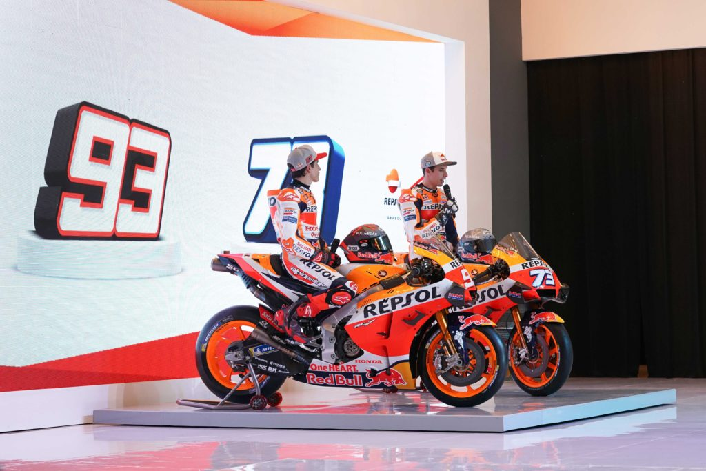 Honda predstavila MotoGP ekipu