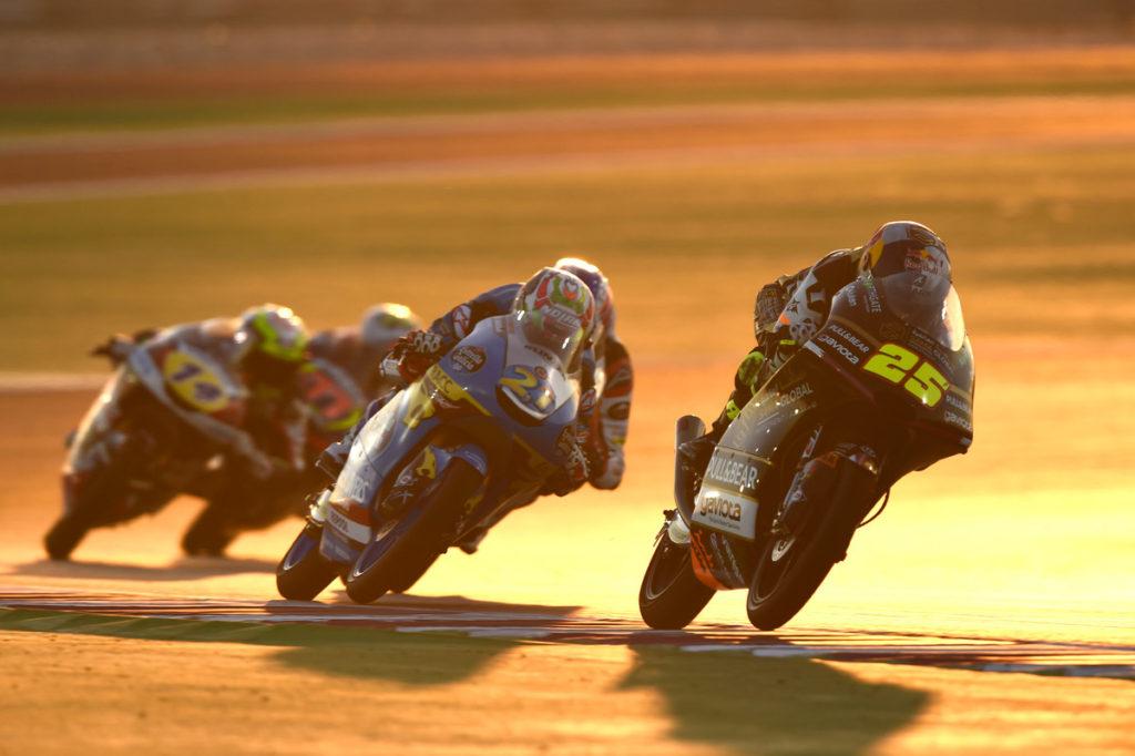 Moto3 i Moto2 Katar