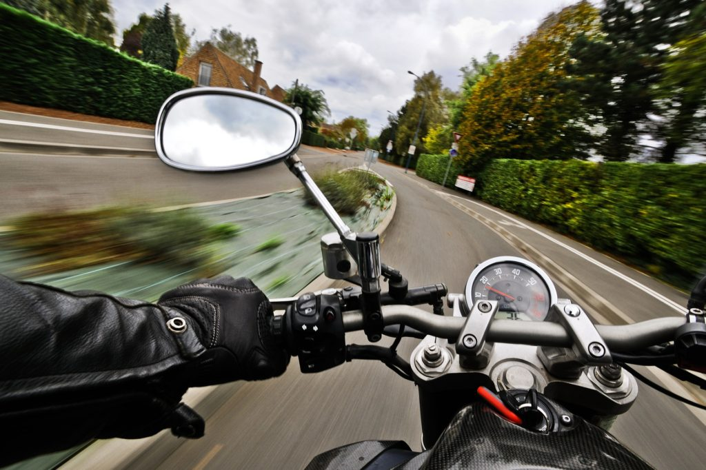 vožnja motocikla