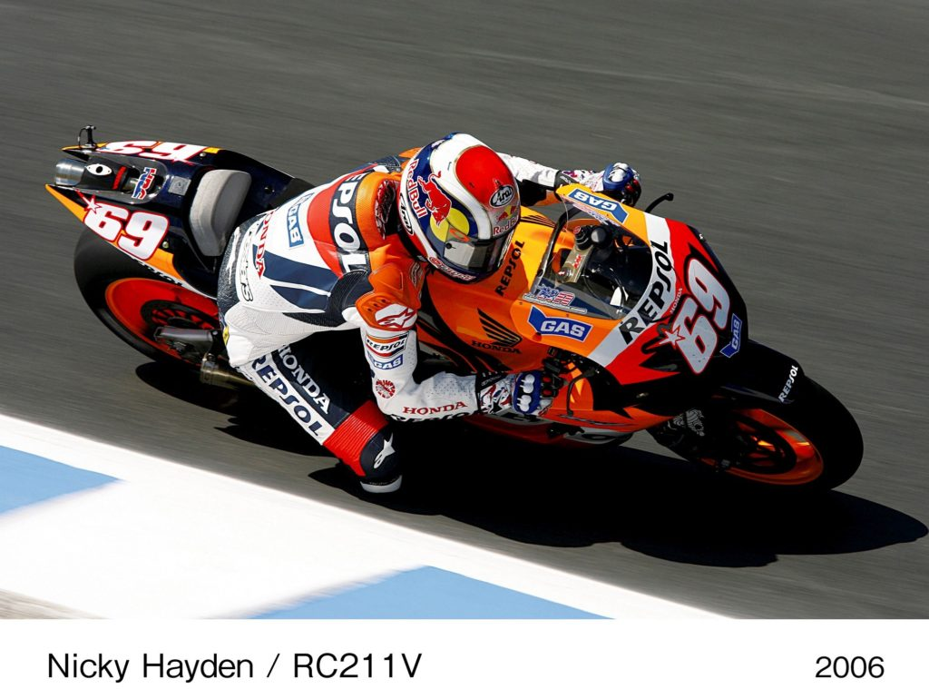 Hondini MotoGP šampionski motocikli