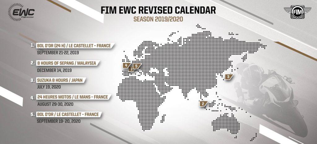Kalendar endurance šampionata izmenjen
