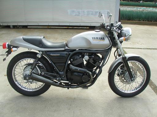 "Yamaha SRV250 Renaissa ""Gray import"" motocikli"
