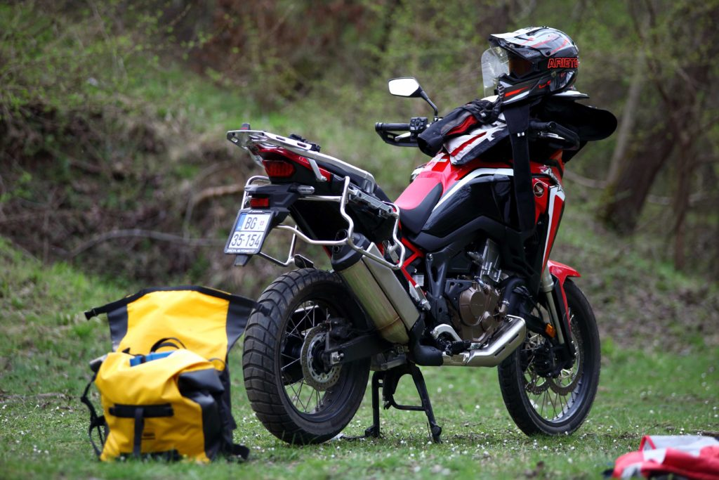 Test Honda Africa Twin CRF1100L