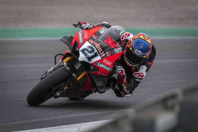 WSBK test na Estorilu