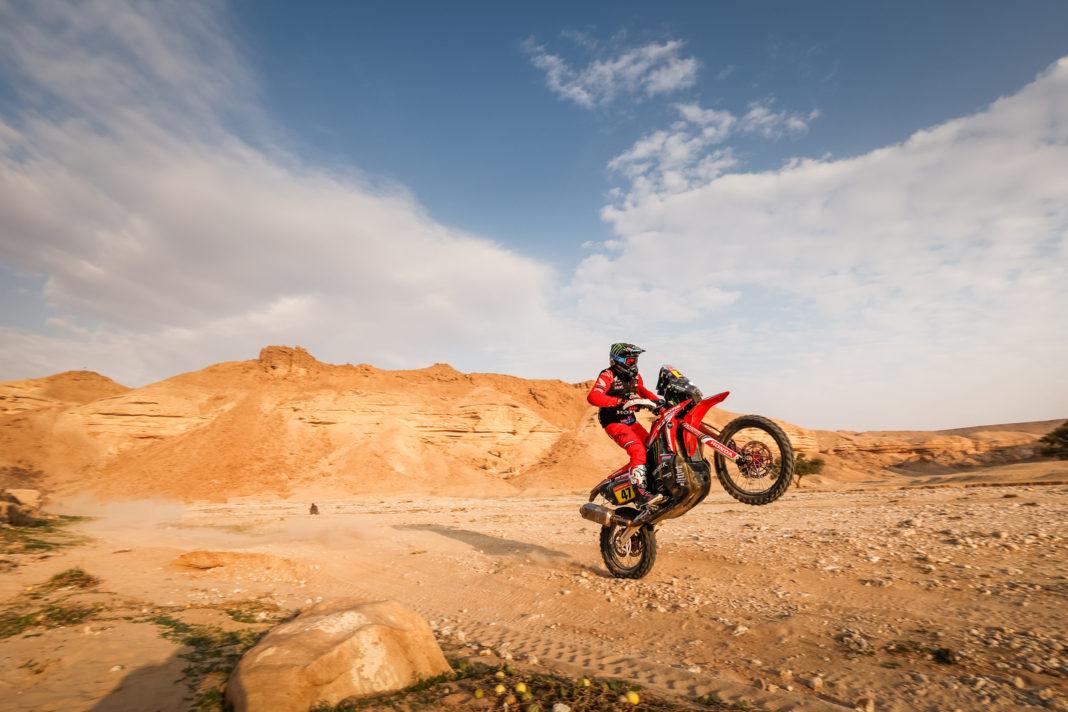 Dakar Reli peta etapa