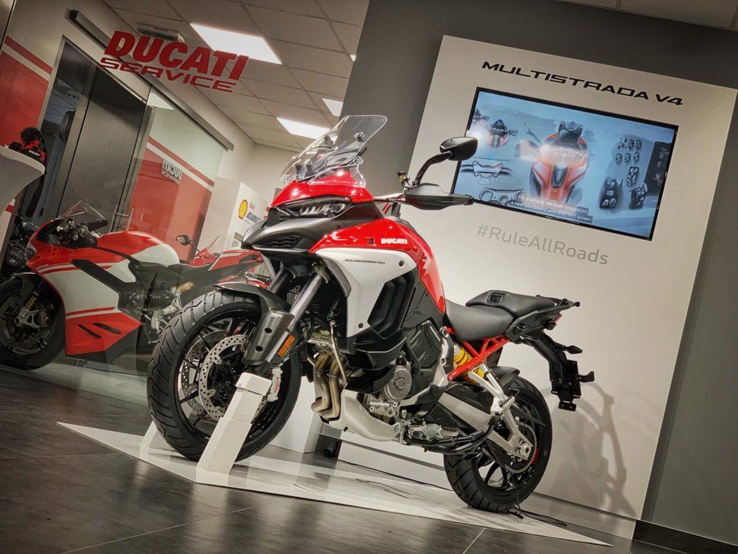 Prva Ducati Multistrada V4S stigla u Srbiju