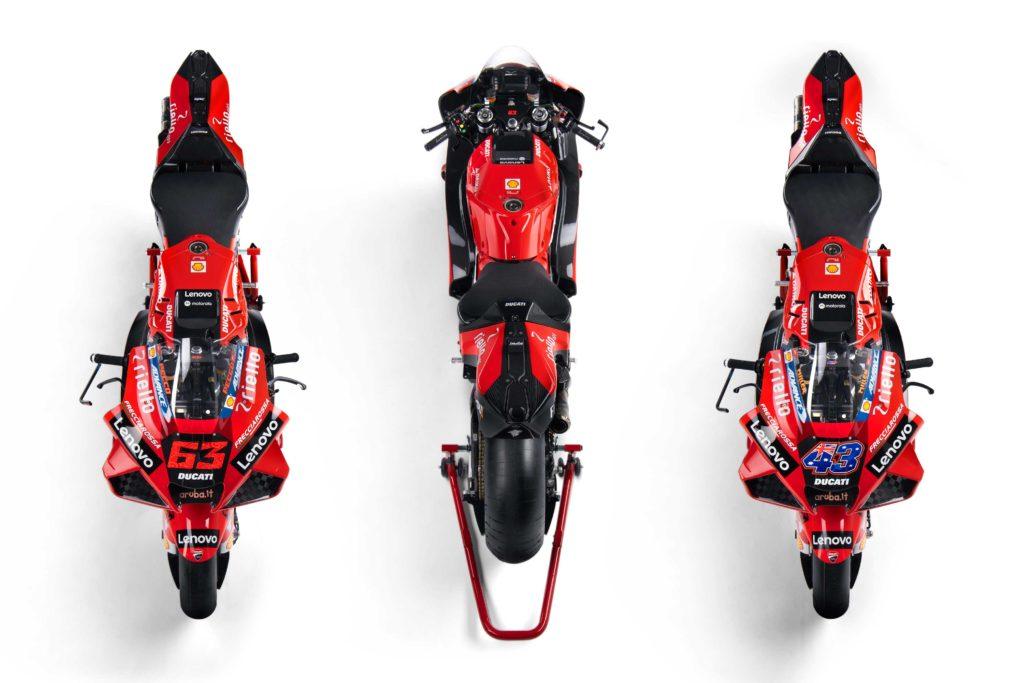 Ducati predstavio MotoGP ekipu za 2021. godinu