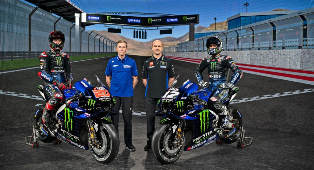 Yamaha predstavila MotoGP ekipu