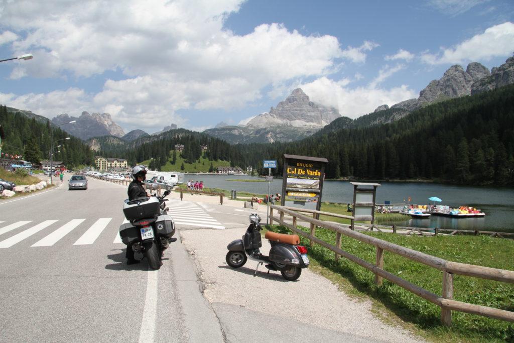 Alpi - pogled kroz vizir saputnice