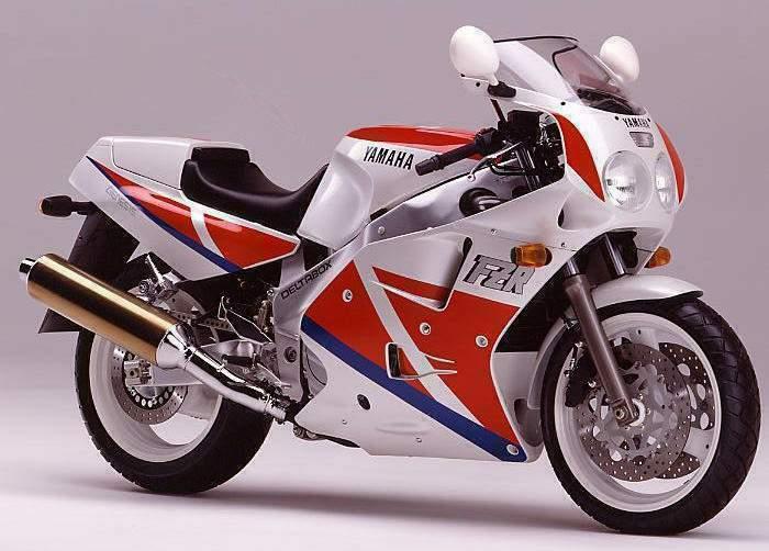Yamaha FZR1000 EXUP Sportski motocikli koji su obeležili devedesete