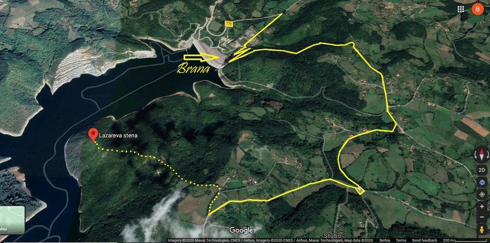Jezero Rovni i Valjevo