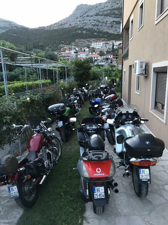 Balkan moto-tour rally